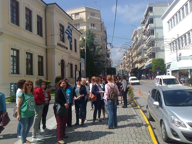 Βέροια: Κινητοποίηση εργαζόμενων στους δημοτικούς παιδικούς σταθμούς