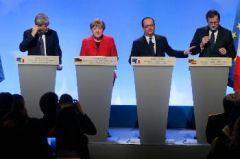 ΣΥΝΟΔΟΣ ΓΑΛΛΙΑΣ - ΓΕΡΜΑΝΙΑΣ - ΙΤΑΛΙΑΣ - ΙΣΠΑΝΙΑΣ: Προωθούν τα σχέδια για ΕΕ «πολλών ταχυτήτων»
