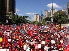 ΒΕΝΕΖΟΥΕΛΑ: Μεγάλες λαϊκές διαδηλώσεις