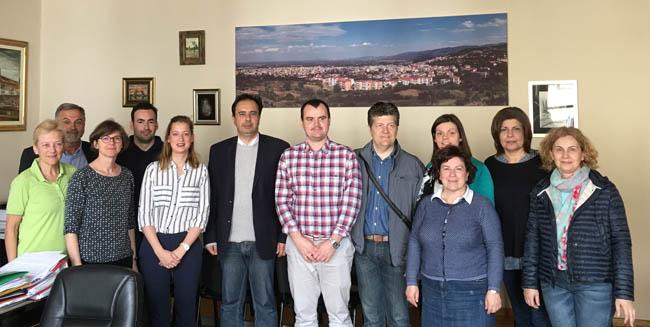 Επίσκεψη καθηγητών και μαθητών από το Βέλγιο, τη Γερμανία και τη Νορβηγία στο Δήμο Βέροιας