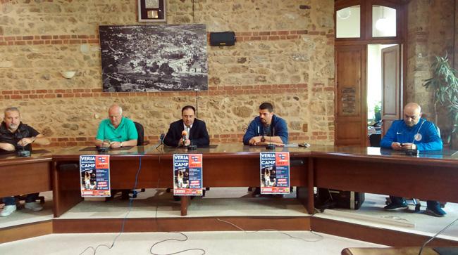 Συνέντευξη τύπου για το 3ο VERIA BASKETBALL CAMP