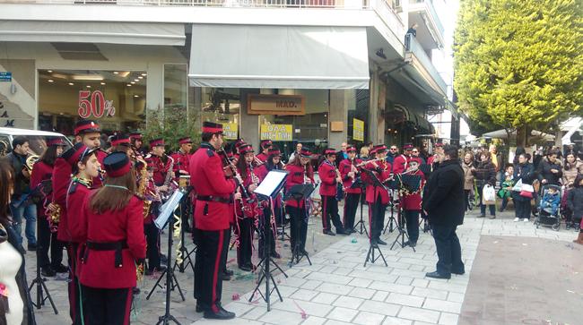 Με μουσική στο κέντρο της Βέροιας...