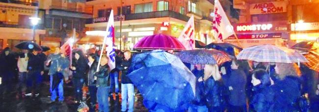 Συλλαλητήριο στη Νάουσα από Εργατικό Κέντρο και Αγροτικό Σύλλογο