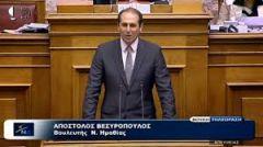 """Ομιλία Φρόσως Καρασαρλίδου στη Βουλή """"για την επιτάχυνση του κυβερνητικού έργου"""""""