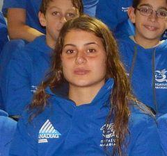 Χρυσή Πανελληνιονίκης η Φανή-Στυλιανή Αντωνιάδου στους Σχολικούς Αγώνες