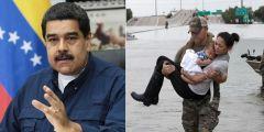 Οικονομική βοήθεια στους πληγέντες του τυφώνα Χάρβεϊ στο Τέξας προσφέρει η Βενεζουέλα..!