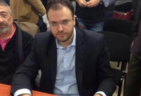 Ο Ημαθιώτης Θανάσης Θεοχαρόπουλος γραμματέας της ΔΗΜΑΡ
