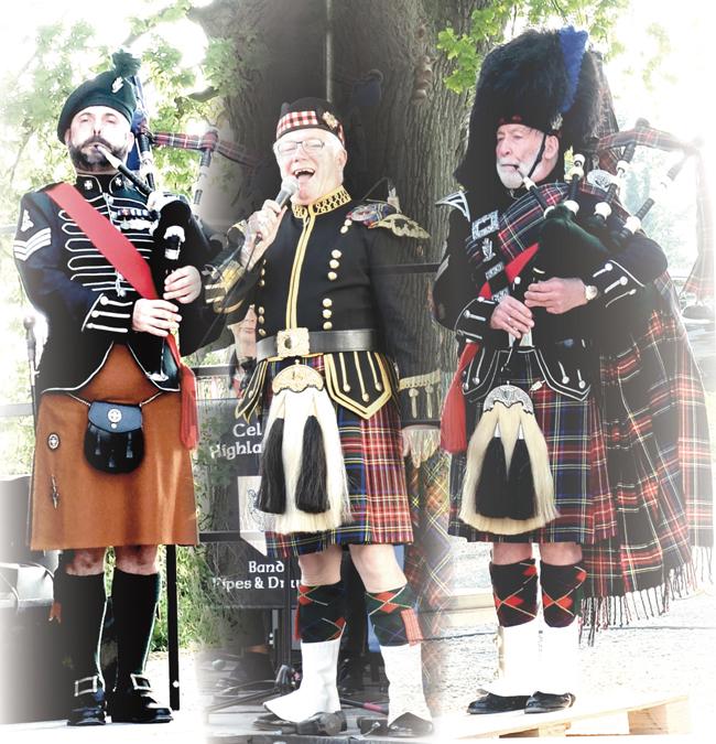 Η παραδοσιακή κέλτικη μπάντα «Celtic Highlanders Band, Pipes & Drums» στις εκδηλώσεις της φετινής Αποκριάς στη Νάουσα!