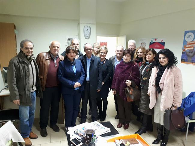 Συναντήσεις εργαζόμενων στους παιδικούς σταθμούς με τοπικούς βουλευτές