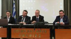 Διευρυμένη σύσκεψη πραγματοποιήθηκε  στο Επιμελητήριο Ημαθίας, παρουσία εκπροσώπων του Μολβαδικού και του Ελληνοϊταλικού Επιμελητηρίου,  με πρωτοβουλία του αντιπεριφερειάρχη Κώστα Καλαϊτζίδη