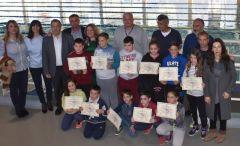 Ολοκληρώθηκαν τα μαθήματα κολύμβησης 2ου τριμήνου στα Δημοτικά