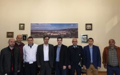 Συνάντηση της Ένωσης Αστυνομικών Υπαλλήλων Ημαθίας με το Δήμαρχο Βέροιας