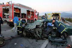 Σε υψηλά επίπεδα τα θανατηφόρα τροχαία στην Ελλάδα