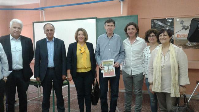 Επίσκεψη υφυπουργού Παιδείας στο Ε.Ε.Ε.Λ Βέροιας