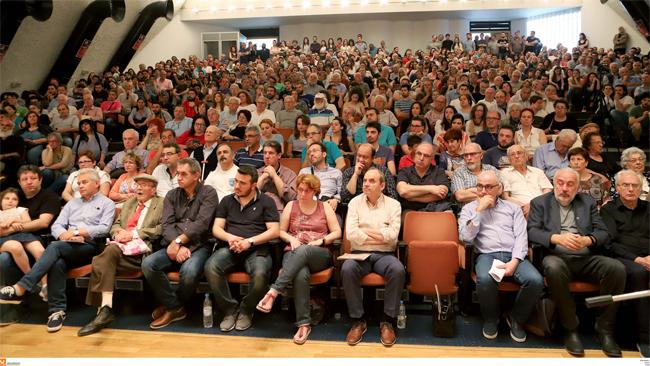 Σε κλίμα βαθιάς συγκίνησης η εκδήλωση για τις δίκες στο Έκτακτο Στρατοδικείο Θεσσαλονίκης