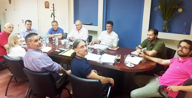 Σύσκεψη για την έναρξη επίγειων και εναέριων ψεκασμών στην Π.Ε Ημαθίας