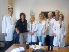 Φρόσω Καρασαρλίδου: Επίσκεψη στο Κέντρο Υγείας (πρώην ΠΕΔΥ) Νάουσας