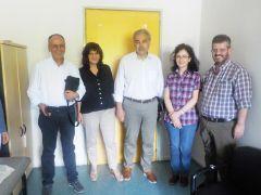 Επίσκεψη των βουλευτών Φρόσως Καρασαρλίδου και Χρήστου Αντωνίου στο Κέντρο Υγείας Αλεξάνδρειας