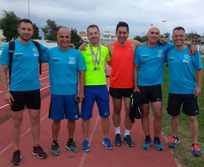 Εντυπωσιακή εμφάνιση των αθλητών  του ΣΕΒΑΣ Νάουσας στο 31ο Πανελλήνιο Πρωτάθλημα Βετεράνων αθλητών Στίβου στην Αλεξανδρούπολη