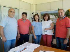 Επίσκεψη Φρόσως Καρασαρλίδου σε ΕΚΕ, ALEXANDER, VENUS, ΑΛΜΜΕ