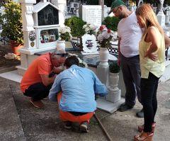 Mε εντολή του αντιπεριφερειάρχη Ημαθίας Κώστα Καλαϊτζίδη, πραγματοποιήθηκαν ψεκασμοί για τα κουνούπια στα κοιμητήρια Βέροιας και Νάουσας