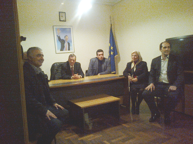 Προεκλογική επίσκεψη του Γιάννη Ιωαννίδη στην Ημαθία