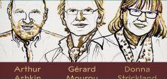 Σε τρεις επιστήμονες για τις έρευνές τους στον τομέα των laser το Νόμπελ Φυσικής 2018