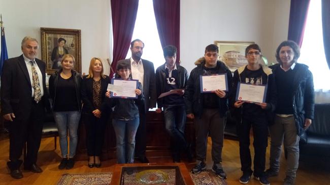 1ο Βραβείο στο Ενιαίο Ειδικό Επαγγελματικό Γυμνάσιο  και Λύκειο Βέροιας
