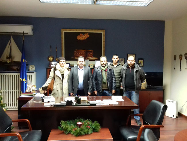 Συνάντηση Αντιπεριφερειάρχη με τους εκπροσώπους του νεοσύστατου Αγροτικού Συλλόγου Ημαθίας
