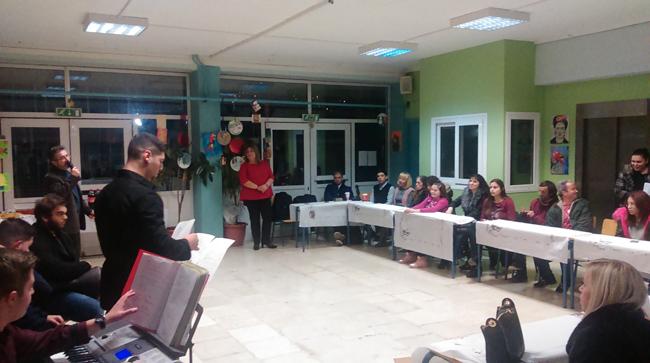 Εορταστική εκδήλωση στο Εσπερινό της Βέροιας