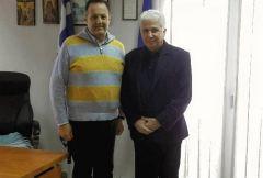 Συνάντηση Ουρσουζίδη με τον Αστυνομικό Διευθυντή