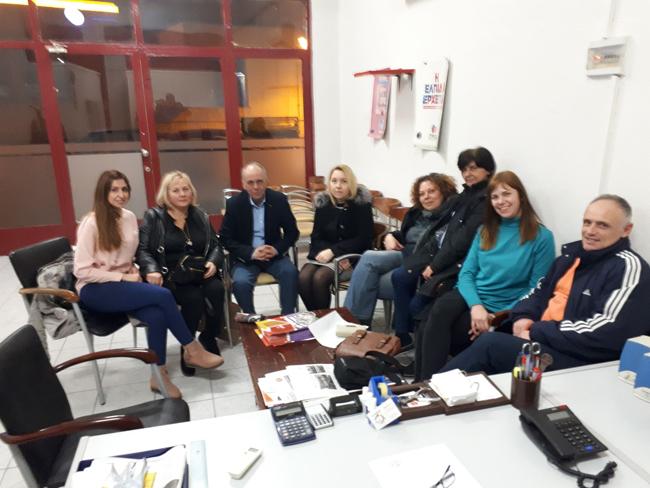 Συνάντηση με αντιπροσωπεία εργαζομένων στα ΚΔΑΠ και ΚΔΑΠ ΑμεΑ Αλεξάνδρειας , είχε ο βουλευτής Ημαθίας  Χρήστος Αντωνίου
