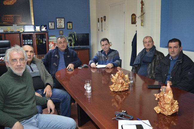 Συνάντηση Κώστα Καλαϊτζίδη με εκπροσώπους του Αγροτικού Συλλόγου Γεωργών Βέροιας