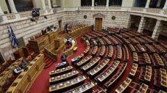 Για τις πολιτικές διεργασίες εντός του ελληνικού Κοινοβουλίου
