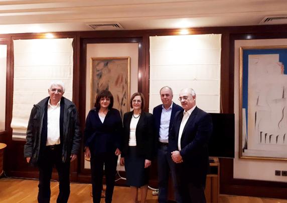 Συνάντηση με την Υπουργό Πολιτισμού Μυρσίνη Ζορμπά , είχαν οι βουλευτές Ημαθίας Χρήστος Αντωνίου και Φρόσω Καρασαρλίδου