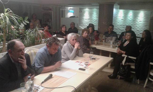 Παρουσίαση ψηφοδελτίου της Λαϊκής Συσπείρωσης στη Βέροια