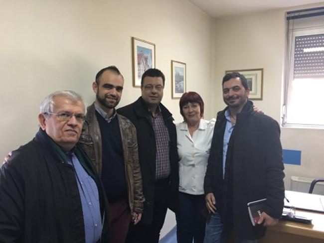 Επίσκεψη Χρήστου Παπαστεργίου στην Ημαθία