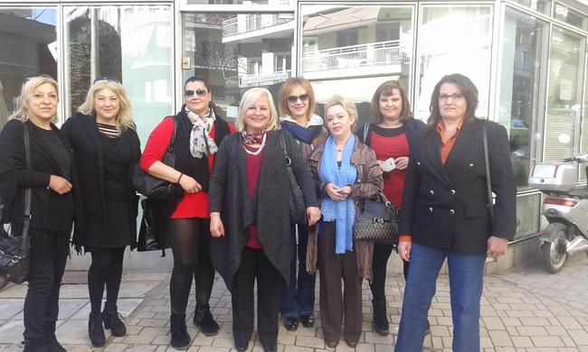 Γυναικεία εξόρμηση της Γεωργίας Μπατσαρά