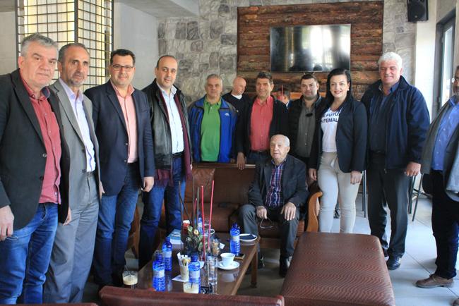 Συνάντηση Κώστα Ναλμπάντη με τον δήμαρχο Πάφου