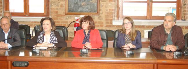 Στη Βέροια σήμερα η υφυπουργός Εσωτερικών Μαρίνα Χρυσοβελώνη