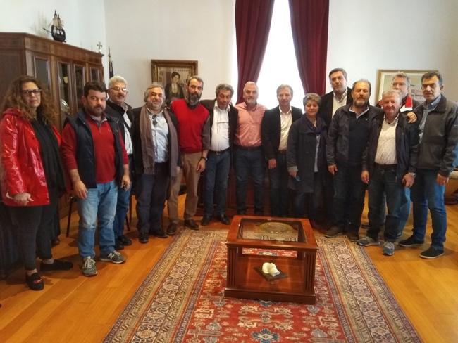 Συνάντηση με το νέο Διοικητικό Συμβούλιο της Πανελλήνιας Ομοσπονδίας Εργαζομένων στις ΔΕΥΑ