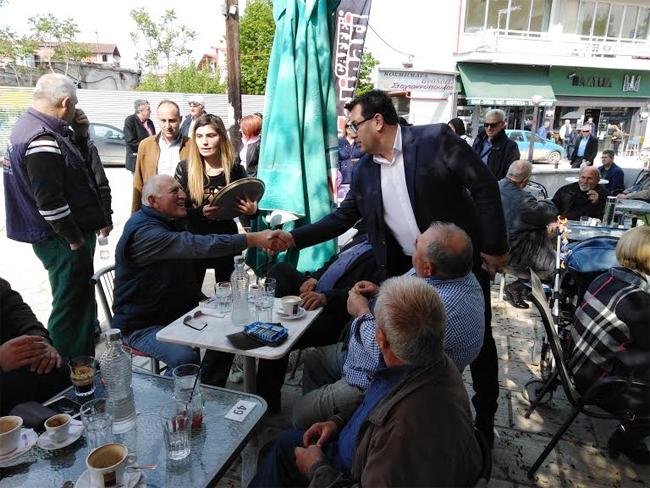 Περιοδεία στην Μελίκη πραγματοποίησε ο υποψήφιος Δήμαρχος Αλεξάνδρειας Κώστας Ναλμπάντης