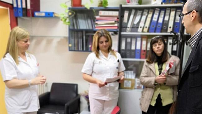 ΝΑΟΥΣΑ: Περιοδεία της «Λαϊκής Συσπείρωσης» στο Νοσοκομείο της πόλης