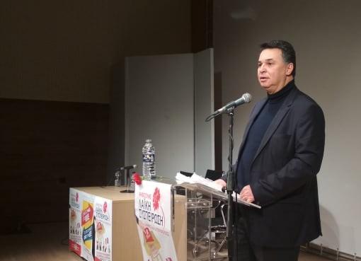 Τους υποψήφιους της ΛΑΣ Νάουσας παρουσίασε ο Θωμάς Τσουκαλάς