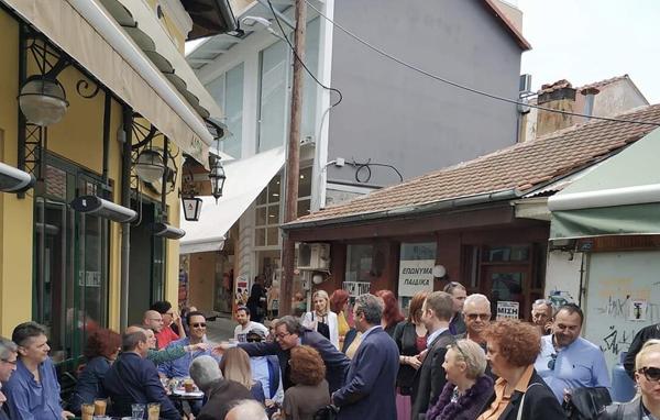 Μ. Σάββατο στην αγορά της Βέροιας ο Αντ. Μαρκούλης