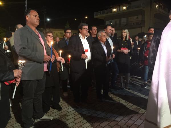 Επιτάφιο και Ανάσταση σε Κοινότητες του Δήμου Βέροιας ο Αντ. Μαρκούλης