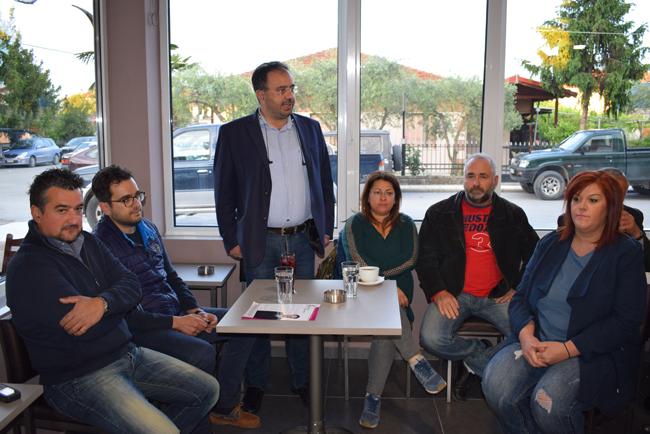 Εγκαινίασε τους «Δημοσίους Διαλόγους»  σε τοπικές κοινότητες ο Κ. Βοργιαζίδης