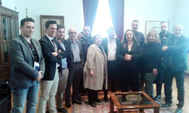 Στην Ημαθία ο υποψήφιος ευρωβουλευτής Νίκος Ανδρουλάκης