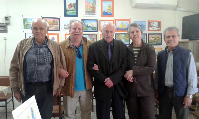 Εγκαινιάστηκε η έκθεση ζωγραφικής του Νεοκλή Κουρουζίδη