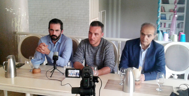 Επίσκεψη υποψήφιων ευρωβουλευτών του ΣΥΡΙΖΑ στη Βέροια